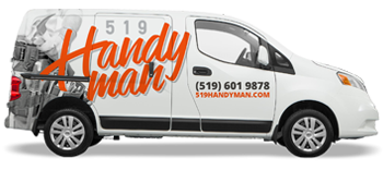 403Handyman repair services truck Calgary
